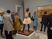 Degas's The Little Dancer at Stair Sainty Gallery, Dover st. London. 26 April 2017