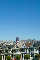 San Francisco's Skyline and Painted Ladies