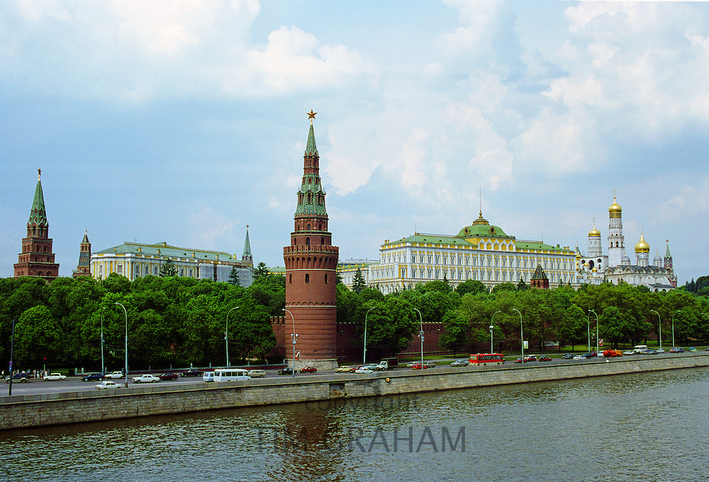 The Kremlin and Moscow River, Russia