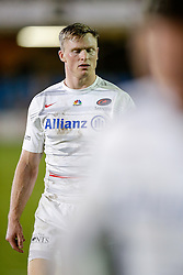 Saracens Winger Chris Ashton closes his eyes and looks dejected after a match to forget with his side losing after he himself picked up a yellow card - Photo mandatory by-line: Rogan Thomson/JMP - 07966 386802 - 03/10/2014 - SPORT - RUGBY UNION - Bath, England - The Recreation Ground - Bath Rugby v Saracens - Aviva Premiership.