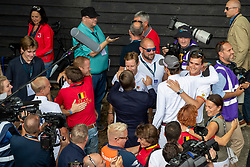 Devos Pieter, BEL, Bruynseels Niels, BEL, Philippaerts Olivier, BEL<br /> European Championship Jumping<br /> Rotterdam 2019<br /> © Dirk Caremans