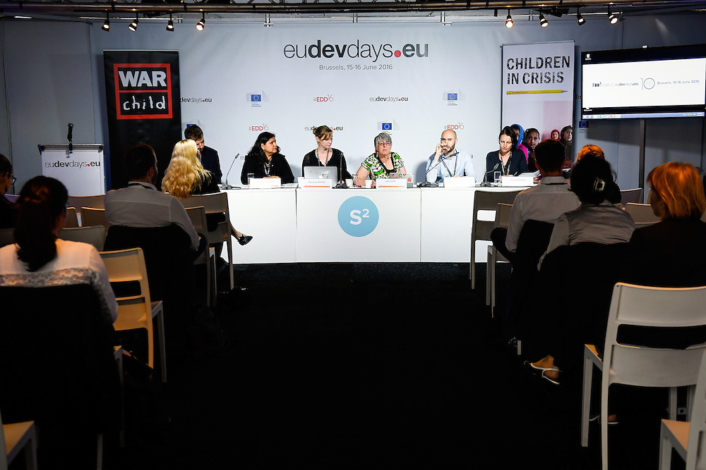 20160615 - Brussels , Belgium - 2016 June 15th - European Development Days - Juvenile justice in Afghanistan - A building block for peace © European Union