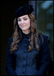 Duchess of Cambridge during the annual Remembrance Sunday Service at the Cenotaph, Whitehall, London, England. Sunday, 10th November 2013. Picture by Andrew Parsons / i-Images