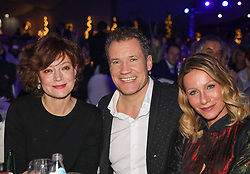 22.01.2018, Planai, Schladming, AUT, FIS Weltcup Ski Alpin, Slalom, Herren, Charity Night, im Bild v. l. Schauspielerin Marion Mitterhammer, Armin Assinger mit Freundin Sandra // during the Charity Night prior to the Schladming FIS Ski Alpine World Cup 2018 at the Planai in Schladming, Austria on 2018/01/22. EXPA Pictures © 2018, PhotoCredit: EXPA/ Martin Huber