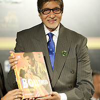 MACAU, CHINA - JUNE 11:  Indian Bollywood actor Amitabh Bachchan receives a book after a news conference during the 2009 International Indian Film Academy Awards at the Venetian Macao-Hotel-Resort on June 11, 2009 in Macau.  Photo by Victor Fraile / studioEAST
