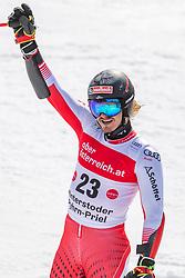 02.03.2020, Hannes Trinkl Weltcupstrecke, Hinterstoder, AUT, FIS Weltcup Ski Alpin, Riesenslalom, Herren, 2. Lauf, im Bild Manuel Feller (AUT) // Manuel Feller of Austria reacts after his 2nd run of men's Giant Slalom of FIS ski alpine world cup at the Hannes Trinkl Weltcupstrecke in Hinterstoder, Austria on 2020/03/02. EXPA Pictures © 2020, PhotoCredit: EXPA/ Johann Groder