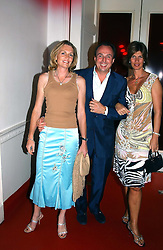 Left to right, LADY LLOYD-WEBBER, and JEREMY & EMMA MARSH at the 60th birthday party for Chris Wright held at Sketch, Conduit Street, London W1 on 7th September 2004.