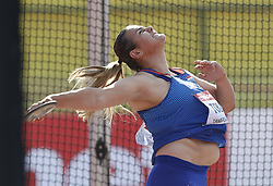 July 10, 2018 - Tampere, Suomi Finland - 180710 Friidrott, Junior-VM, Dag 1: Marija Tolj, CRO competes in XXX during the IAAF World U20 Championships day 1 at the Ratina stadion 10. July 2018 in Tampere, Finland. (Newspix24/Kalle Parkkinen) (Credit Image: © Kalle Parkkinen/Bildbyran via ZUMA Press)