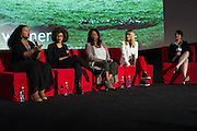 Tiffany Smith-Anoa'i, SVP of Entertainment Diversity, CBS Corporation, Brittany Turner, VP of Digital Video, Adaptive Studios, Wendy Calhoun, Producer, Catherine Hardwicke, Director, and Stacey Wilson Hunt, Hollywood Editor, Vulture