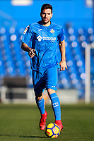 Getafe's new player Leandro Daniel Cabrera during his official photo session. January 18, 2018. (ALTERPHOTOS/Acero)