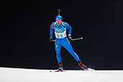 PYEONGCHANG-GUN, SOUTH KOREA - FEBRUARY 12: Lowell Bailey of USA during the Mens Biathlon 12.5km Pursuit at Alpensia Biathlon Centre on February 12, 2018 in Pyeongchang-gun, South Korea. Photo by Nils Petter Nilsson/Ombrello               ***BETALBILD***