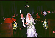 LORD EDWARD SOMERSET WITH  Lady CAROLINE SOMERSET AT THEIR WEDDING AT Badminton. Glouce. 1982. <br /><br />SUPPLIED FOR ONE-TIME USE ONLY> DO NOT ARCHIVE. © Copyright Photograph by Dafydd Jones 248 Clapham Rd.  London SW90PZ Tel 020 7820 0771 www.dafjones.com