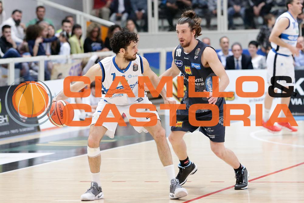 Vitali Luca<br /> Dolomiti Energia Aquila Basket Trento - Germani Basket Brescia Leonessa<br /> Lega Basket Serie A 2016/2017<br /> PalaTrento, 23/04/2017<br /> Foto Ciamillo-Castoria / M. Brondi