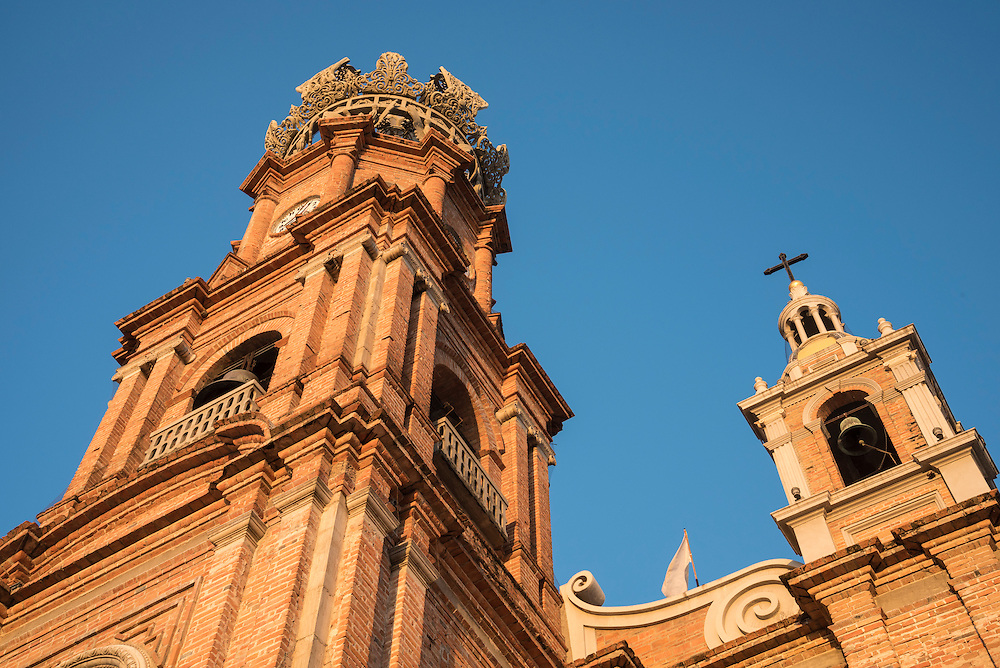 Our Lady of Guadalupe church in Puerto Vallarta, Jalisco, Mexico.