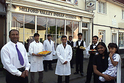 Melford Valley Indian Cuisine, Long Melford ,Suffolk, May 13, 2000. Photo by Andrew Parsons / i-images..
