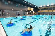 Zwemcentrum Rotterdam, Zuidplein, by Kraaijvanger Architects, Sportbedrijf Rotterdam, zwembad, zwemles, transformatie, gulden feniks,hart van zuid