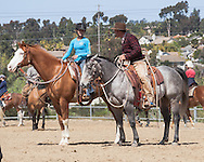 Buck Brannaman demonstrates to and instructs students in the skills of Natural Horsemanship in Del Mar California. Photos from Buck Brannaman natural horsemen clinic, Del Mar California, April 6, 2012