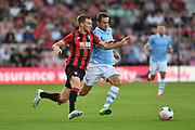 Bournemouth defender Jack Stacey and Lazio Senad Lulic (19) during the Pre-Season Friendly match between Bournemouth and SS Lazio at the Vitality Stadium, Bournemouth, England on 2 August 2019.