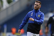 Jack Byrne of Blackburn Rovers warms up before the EFL Sky Bet Championship match between Blackburn Rovers and Burton Albion at Ewood Park, Blackburn, England on 20 August 2016. Photo by Simon Brady.