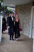 VANESSA BRANSON, The Goodwood Ball. In aid of Gt. Ormond St. hospital. Goodwood House. 27 July 2011. <br /> <br />  , -DO NOT ARCHIVE-© Copyright Photograph by Dafydd Jones. 248 Clapham Rd. London SW9 0PZ. Tel 0207 820 0771. www.dafjones.com.