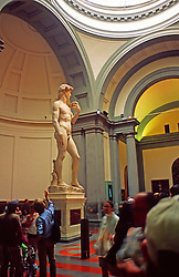 Michelangelo's Statue David, Accademia Florence, Ital