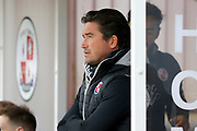 Crawley Town manager Harry Kewell during the EFL Sky Bet League 2 match between Crawley Town and Cheltenham Town at the Checkatrade.com Stadium, Crawley, England on 24 March 2018. Picture by Andy Walter.