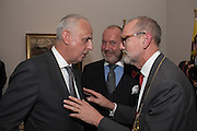 LUC TUYMANS; NIC VAN DER MARLIERRE; Christopher Le Brun General Representative of the Government of Flanders in the U.K., Intrigue: James Ensor by Luc Tuymans. Royal Academy. Piccadilly, London. 25 October 2016