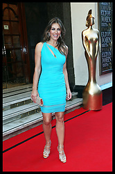 Liz Hurley  arriving at the first BRIT's Icon Award in London, Monday, 2nd September 2013. Picture by Stephen Lock / i-Images
