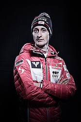 12.10.2019, Olympiahalle, Innsbruck, AUT, FIS Weltcup Ski Alpin, im Bild Clemens Aigner // during Outfitting of the Ski Austria Winter Collection and the official Austrian Ski Federation 2019/ 2020 Portrait Session at the Olympiahalle in Innsbruck, Austria on 2019/10/12. EXPA Pictures © 2020, PhotoCredit: EXPA/ JFK