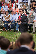 Senator and GOP presidential candidate Marco Rubio speaks to students during the Bully Pulpit series town hall at the College of Charleston December 1, 2015 in Charleston, South Carolina.