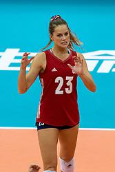 14-10-2018 JPN: World Championship Volleyball Women day 15, Nagoya<br /> China - United States of America 3-2 / Kelsey Robinson #23 of USA