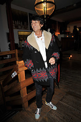 RONNIE WOOD at the gala night party of Losing It staring Ruby Wax held at he Menier Chocolate Factory, 51-53 Southwark Street, London SE1 on 23rd February 2011.