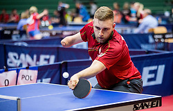 Igor MISZTAL of Poland  during Team events at Day 4 of 15th Slovenia Open - Thermana Lasko 2018 Table Tennis for the Disabled, on May 12, 2018, in Dvorana Tri Lilije, Lasko, Slovenia. Photo by Vid Ponikvar / Sportida