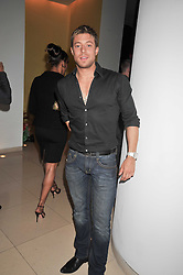 DUNCAN JAMES at the St.Martins Lane Hotel 10th year bash held on 9th September 2009.