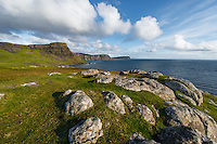 The ocean view from Neist Point on Skye