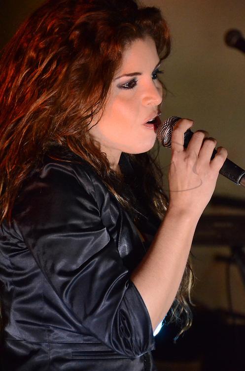 La cantante Diveana en el enlace matrimonial entre Diana Hernandez y Hans Schafer, celebrado el Caracas, el 28 de Mayo del 2011. Jimmy Villalta