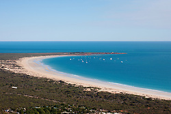 Aerial view of Gantheume Point at the end of Broome's Cable Beach.