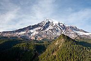 Mount Rainier from Ricksecker Point in Mount Rainier National Park, Washington State, USA