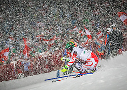 27.01.2015, Planai, Schladming, AUT, FIS Skiweltcup Alpin, Schladming, 1. Lauf, im Bild Mario Matt (AUT) // Mario Matt (AUT) during the first run of the men's slalom of Schladming FIS Ski Alpine World Cup at the Planai Course in Schladming, Austria on 2015/01/27, EXPA Pictures © 2015, PhotoCredit: EXPA/ Erwin Scheriau