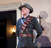 The Plough and the Stars <br /> directed by Howard davies and Jeremy Herrin <br /> at The Lyttelton Theatre, National Theatre, Southbank, London, Great Britain <br /> Press photocall<br /> 26th July 2016 <br /> <br /> <br /> <br /> Adam Best as Captain <br /> <br /> <br /> Photograph by Elliott Franks <br /> Image licensed to Elliott Franks Photography Services