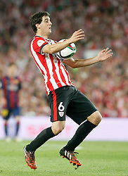 30.05.2015, Camp Nou, Barcelona, ESP, Copa del Rey, Athletic Club Bilbao vs FC Barcelona, Finale, im Bild Athletic de Bilbao's Mikel San Jose // during the final match of spanish king's cup between Athletic Club Bilbao and Barcelona FC at Camp Nou in Barcelona, Spain on 2015/05/30. EXPA Pictures &copy; 2015, PhotoCredit: EXPA/ Alterphotos/ Acero<br /> <br /> *****ATTENTION - OUT of ESP, SUI*****