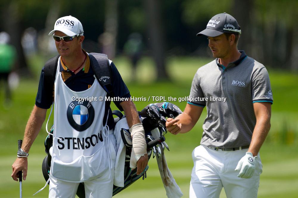 Henrik STENSON (SWE) during fourth round BMW International Open 2015,Golfclub Munchen Eichenied,Munich,Germany