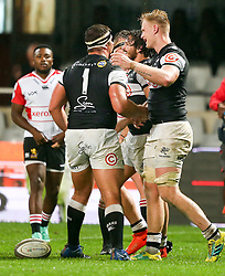 Durban. 20918. Daniel Du Preez of the Cell C Sharks during the Currie Cup match between Cell C Sharks and Xerox Golden Lions XV at Jonsson Kings Park Stadium in Durban, South Africa. Picture Leon Lestrade. African News Agency. ( ANA ).