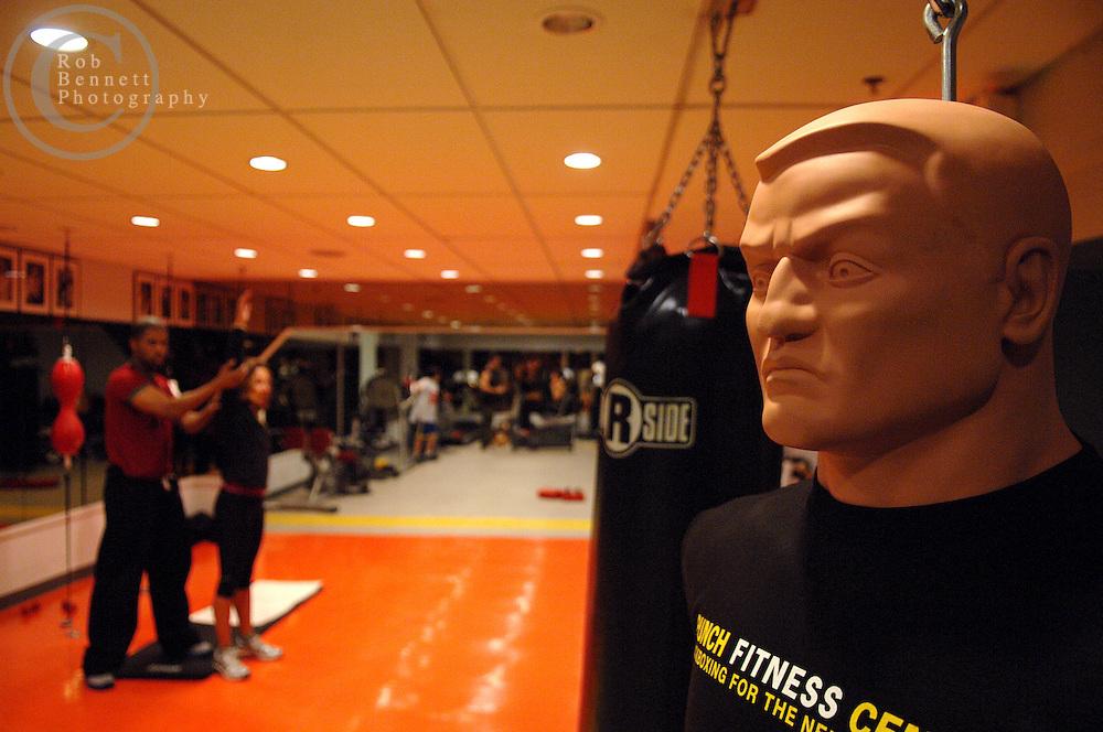 .New York, NY - Monday, Jan. 21, 2008 - Punch Fitness Center.Rob Bennett for Punch Fitness Center