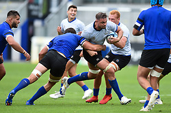 Elliott Stooke in action, Bath Rugby were allowed to start Stage Two of the Premiership Rugby return to play protocol - Mandatory byline: Patrick Khachfe/JMP - 07966 386802 - 06/08/2020 - RUGBY UNION - The Recreation Ground - Bath, England - Bath Rugby training