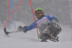 ROSSI Danilo LW12-1 ITA at 2018 World Para Alpine Skiing World Cup slalom, Veysonnaz, Switzerland