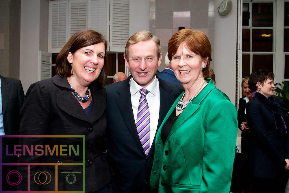 Using Evidence to Inform Policy.<br /> Edited by Pete Lunn &amp; Frances Ruane<br /> Using Evidence to Inform Policy will be launched by Taoiseach Enda Kenny on 27 November in Government Buildings. <br /> <br /> Pictured at the launch <br /> L to R) <br /> Prof Frances Ruane (Director, ESRI and co-editor)<br /> Dr TK Whitaker, <br /> Dr Pete Lunn (co-editor)<br /> <br /> <br /> <br /> The book, edited by economist, author and former BBC journalist Pete Lunn and the Director of the ESRI Frances Ruane, is a unique examination of how evidence can be used to improve policymaking, especially in challenging times.<br /> The fallout from the recent Budget has emphasised the need for transparency in policy decisions. Research and evidence can help to provide this transparency, and Using Evidence to Inform Policy outlines how. However, the book also demonstrates the complexity of the relationship between evidence and policy, arguing that in most cases good policy cannot be determined by evidence alone.<br /> About the book: Using Evidence to Inform Policy demonstrates the breadth and value of the contribution that evidence can make to policy. It presents eleven studies drawn from recent ESRI research projects, illustrating different aspects of the relationship between evidence and policy, and how these vary by policy area.<br /> The theme of how evidence can influence policy is examined in a wide range of areas, including the economy, public infrastructure, innovation, competition, the labour market, financial regulation, healthcare, housing, education, government spending, public services and earnings. <br /> Each chapter tackles a question that&rsquo;s relevant to policymaking in Ireland now, for example, how to protect consumers of financial services; what is the Irish public&rsquo;s perception of public services and their implications for public sector reform?; how to explain changes in earnings and labour costs during the recession; what is the evidence for providing ec