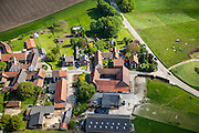 Nederland, Limburg, Gemeente Beek, 27-05-2013; Klein Genhout. Klassieke Limburgse boerderij, hof.<br /> Classic Limburg farm courtyard.<br /> luchtfoto (toeslag op standaardtarieven);<br /> aerial photo (additional fee required);<br /> copyright foto/photo Siebe Swart.
