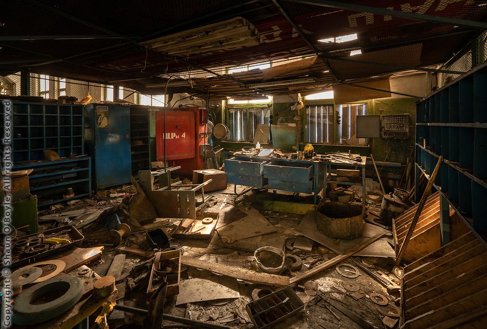 Tool Room, Mechanical Shop
