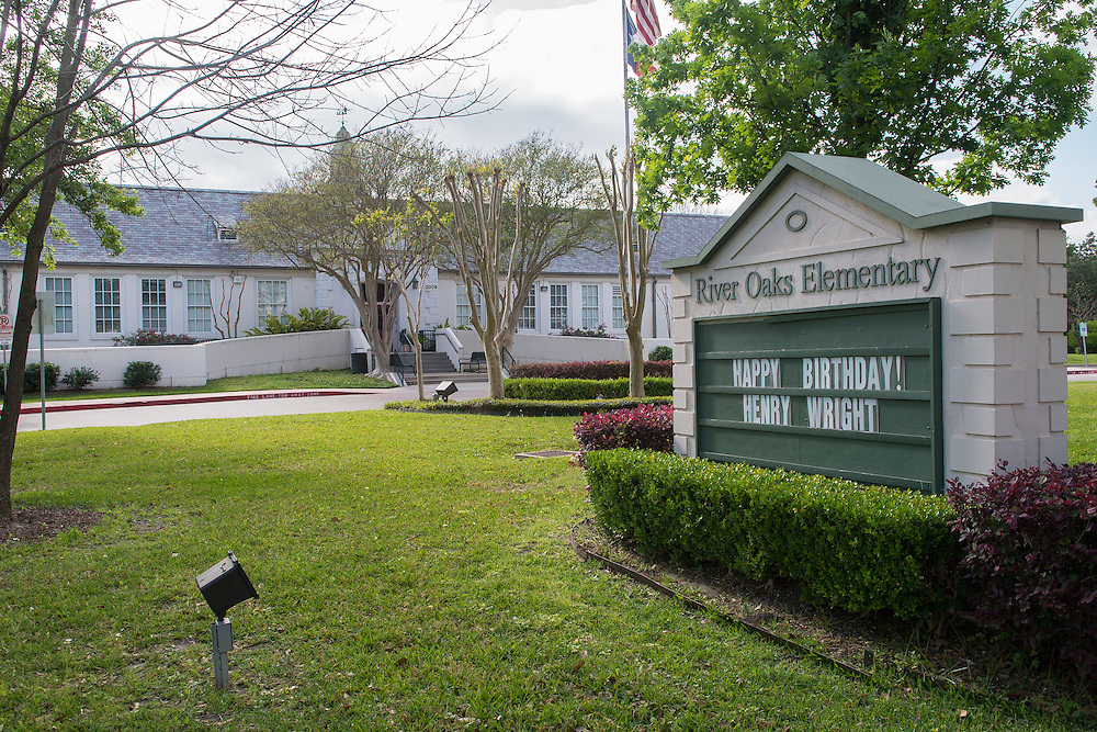 River Oaks Elementary School photographed April 7, 2013. The school was a recipient of funds from the 2007 Bond.